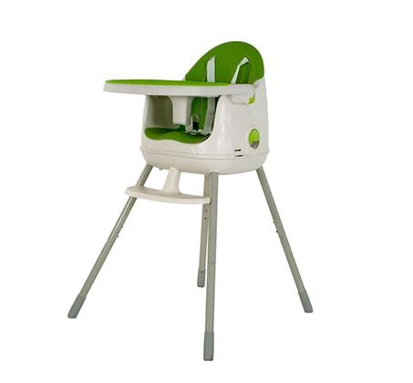 כיסא אוכל מולטי דיין ירוק עם 3 מצבי שיבה