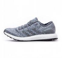 נעלי ריצה לגברים ADIDAS MENS SHOES PURE BOOST CASUAL RUNNING MOVEMENT BA8900 בצבע אפור