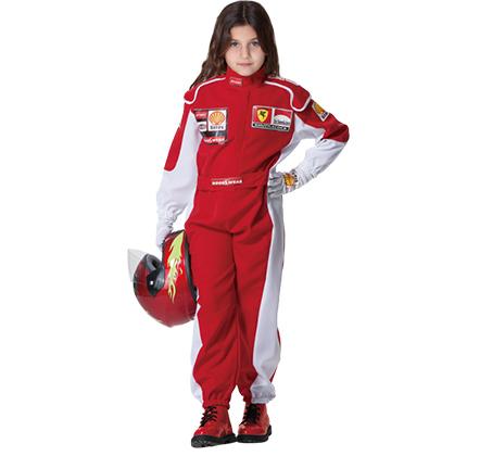 תחפושת לפורים נהג/ת מרוצים F1
