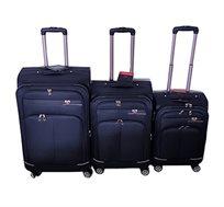 מזוודות בד Swiss Alfa במגוון צבעים וגדלים לבחירה