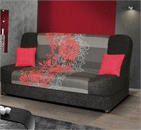ספה אירופאית נפתחת למיטה רחבה הכוללת ארגז לאחסון מצעים דגם ליה מבית HOME DECOR