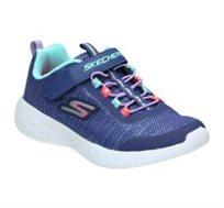 נעלי סניקרס Skechers לילדות בצבע כחול