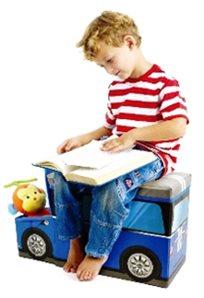 סדר עם סטייל בחדר הילדים! ארגז לאחסון צעצועים וספרים עם מקום ישיבה לילדים, 5 דגמים מדליקים לבחירה