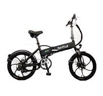 אופניים חשמליים 36V עם סוללה מובנית, גלגלי מגנזיום וצג LCD + קסדה מתנה!