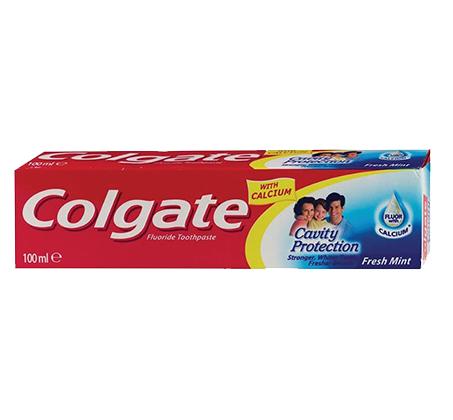 """מארז של 5 יחידות משחת שיניים קולגייט 100 מ""""ל"""