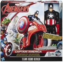 קפטן אמריקה+אופנוע