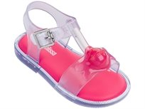 MELISSA ילדות //  MAR SANDAL II CLEAR PINK