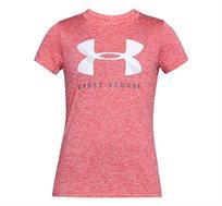 חולצת אימון לאישה UNDER ARMOUR דגם 1309897-714 בצבע ורוד