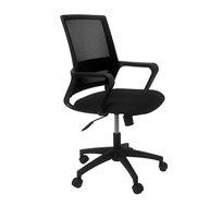 כיסא רשת משרדי בעל מנגנון הגבהה ונדנוד בגוונים לבחירה