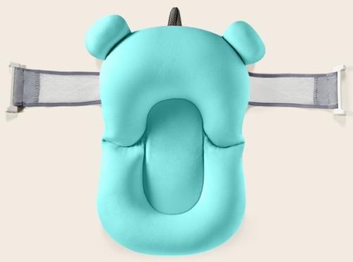 מבריק צף-קל - כרית אמבטיה לתינוק רצועות אבטחה - תכלת LH-89