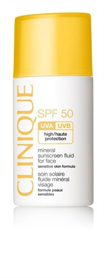 Clinique Mineral Sunscreen Fluid For Face 50 Spf