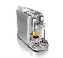 מכונת קפה NESPRESSO קריאטיסטה פלוס בגוון פלדת אל חלד דגם J520