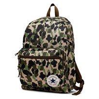 תיק גב קונברס יוניסקס- Go 2 Backpack הסוואה ירוק זית
