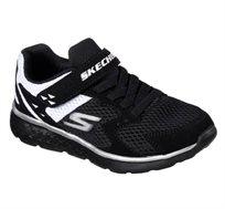 נעלי ספורט לילדים - שחור/לבן