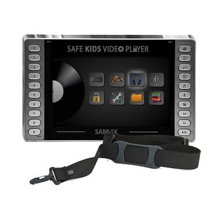 מסך וידאו לרכב/בית עם רמקול עוצמתי