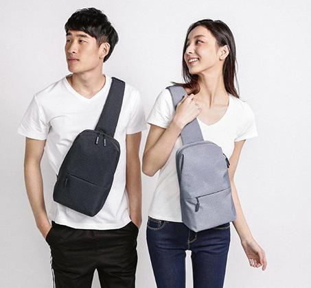תיק כתף 4 ליטר עמיד במים Xiaomi דגם Mi City Sling Bag - תמונה 7