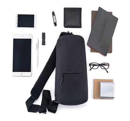 תיק כתף 4 ליטר עמיד במים Xiaomi דגם Mi City Sling Bag - תמונה 8