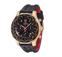 שעון כרונוגרף אנלוגי לגבר FIRENZE Gold