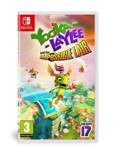 Yooka-Laylee And The Impossible Lair Nintendo Switch נינטנדו סוויץ' אירופאי! מכירה מוקדמת!