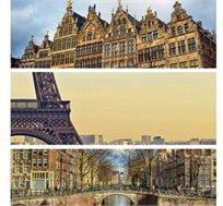 """8 ימי טיול מאורגן בארצות השפלה- בלגיה, צרפת, והולנד ע""""ב א.בוקר החל מכ-$757*"""