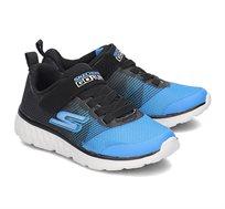 נעלי אופנה לילדים - שחור כחול