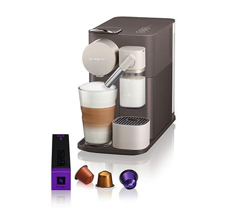 מכונת קפה  NESPRESSO לטיסימה One בגוון חום מוקה דגם F111