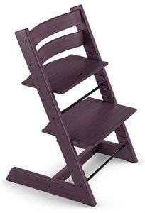 כיסא אוכל רב שלבי טריפ טראפ Tripp Trapp - סגול שזיף