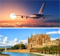 טיסות 'אייר אירופה' לפלמה דה מיורקה רק בכ-$412*