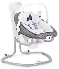 נדנדה חשמלית וטרמפולינה לתינוק 2 ב 1 - Khloe & Bert