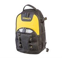 """תיק בד מעולה לכלים/לפטופ """"12 בצבע צהוב ועם כיסים צדדיים סדרת FATMAX מבית STANLEY"""