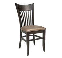 כסא מטבח מעץ כולל ריפוד מושב דגם גאולה