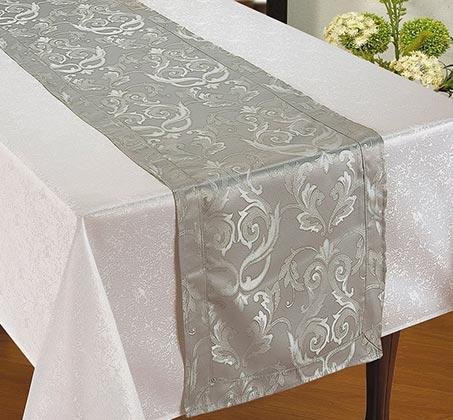"""מפת שולחן עם ראנר 150X240 ס""""מ"""