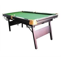 שולחן סנוקר ביתי חזק ביותר עם רגליים מתקפלות 7 FIT דגם GR6 מבית CITYSPORT