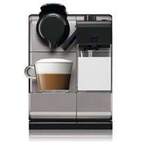 מכונת NESPRESSO לטיסימה טאץ' עם מקציף חלב מובנה בצבע סילבר כסוף דגם F511