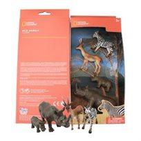 4 חיות ג'ונגל National Geographic