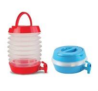 מיכל מים אקורדיון 7.5 ליטר מושלם לים, פקניק ולקמפינג ועוד מבית CAMPTOWN