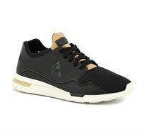 נעלי סניקרס LE COQ SPORTIF R PURE LEA/TECH MESH לגברים בצבע שחור/חום בהיר