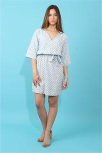 שמלת ויוי מודפסת