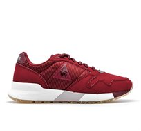 נעלי סניקרס LE COQ SPORTIF OMEGA X W STRIPED SOCK  לנשים - בורדו