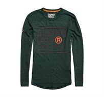 חולצה ספורטיבית מנדפת זיעה Core לגברים - ירוק