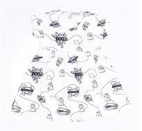 שמלת BOO comics לתינוקת - צבע לבחירה