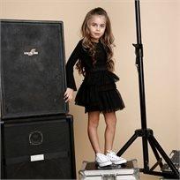 ORO חצאית טוטו(8-2 שנים)- שחורה