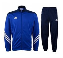 חליפת אימון אדידס דגם F49711 לגבר - כחול/כחול כהה/לבן