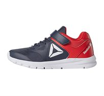 נעלי אימון Reebok לילדים דגם Rush Runner Alt בצבע כחול נייבי/אדום