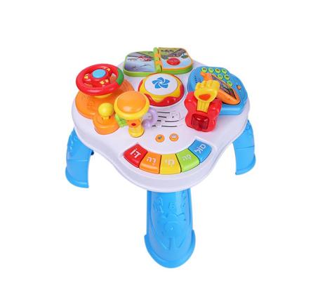 שולחן פעילות - משחקים, מתפתחים ולומדים