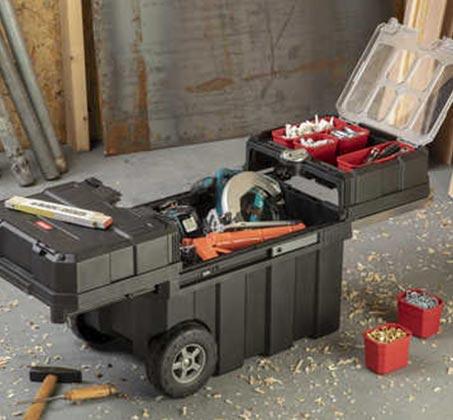 ארגז כלים על גלגלים Masterloader - תמונה 3