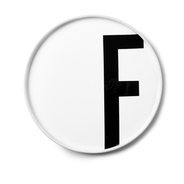 Design Letters// Aj Porcelain Plates F