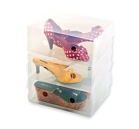 סט ייחודי של 10 קופסאות שקופות ומעוצבות לנעליים המגנות מפני שריטות, אבק ולכלוך! - תמונה 4