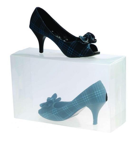 סט ייחודי של 10 קופסאות שקופות ומעוצבות לנעליים המגנות מפני שריטות, אבק ולכלוך! - תמונה 3