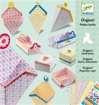 יצירה - אוריגמי קופסאות קטנות - Djeco